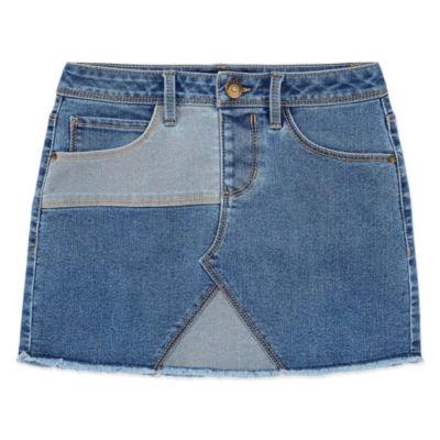 Squeeze Denim Skirt - Big Kid Girls
