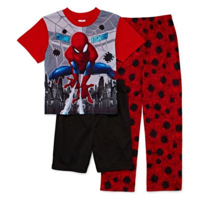 3-pc. Spiderman Pajama Set Boys