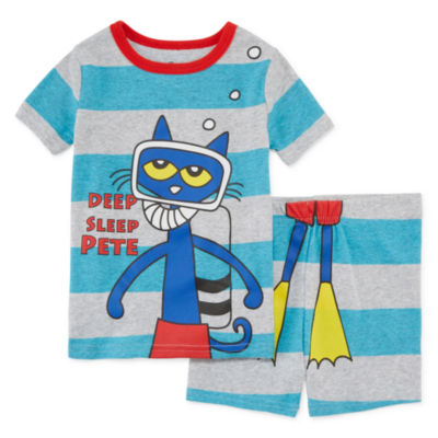 Pete The Cat 2-pc. Pajama Set Boys