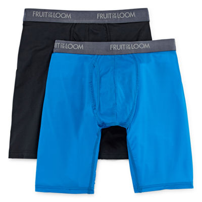 Fruit of the Loom Everlight Long Leg Boxer Briefs