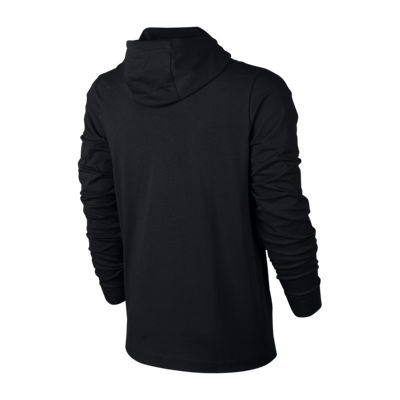 Nike Jersey Mens Long Sleeve Embroidered Hoodie