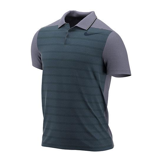 Nike Short Sleeve Knit Polo Shirt JCPenney 82f8e4e2a