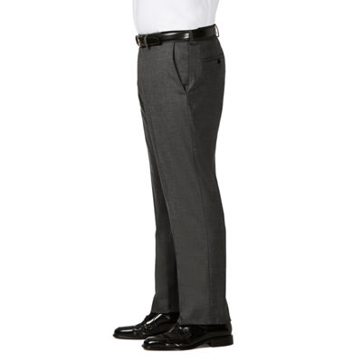 Haggar Jm Haggar Dress Pant Mens Classic Fit Flat Front Pant-Big and Tall