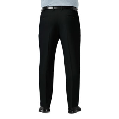 Haggar Premium Comfort Dress Pant Mens Classic Fit Flat Front Pant-Big and Tall