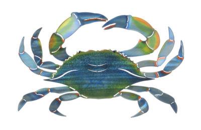Wall Art Medium Blue Crab