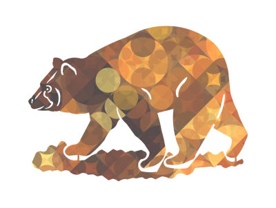 Metal Bear Wall Art Amberesque Small Bear