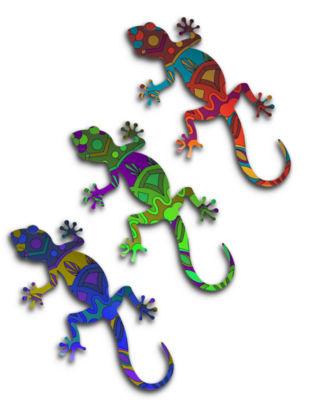 Habanero Gecko Set
