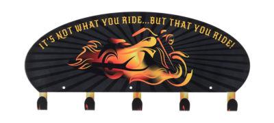 Coat Rack Wall Mounted 5 Flame Bike Coat Rack