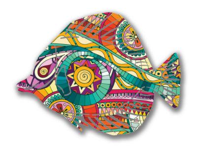 Fish Metal Wall Art Fantasia Angel Fish