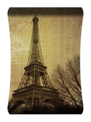 Metal Wall Art Home Decor Eiffel Tower 36x24 HD Curve