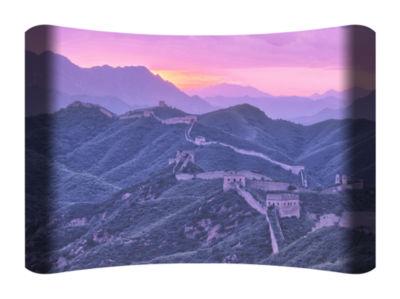 Metal Wall Art Home Decor Great Wall 36x24 HD Curve