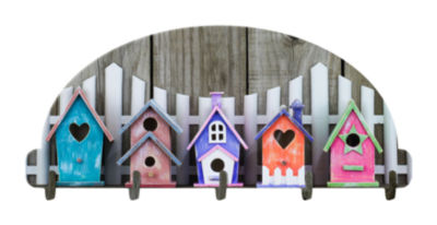 Birdhouses Key Rack