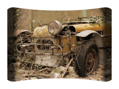 Metal Wall Art Home Decor Roadster 36x24 HD Curve