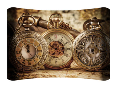 Metal Wall Art Home Decor Watches 36x24 HD Curve