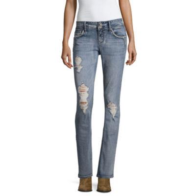 Hydraulic Slim Fit Bootcut Jeans-Juniors