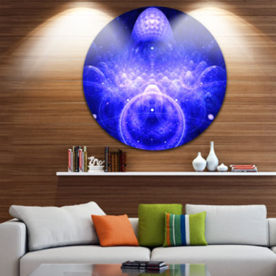 Design Art Mystic 3D Surreal Illustration AbstractRound Circle Metal Wall Decor