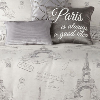 JCPenney Home Paris Jacquard 7-pc. Comforter Set
