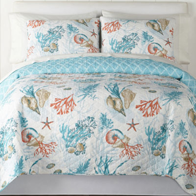 JCPenney Home Atlantis Quilt & Accessories