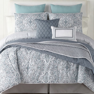 JCPenney Home Ajanta 4-pc. Comforter Set & Accessories