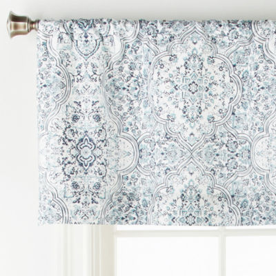 JCPenney Home Ajanta Rod-Pocket Tailored Valance