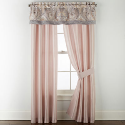JCPenney Home Lausanne Rod-Pocket Curtain Panel