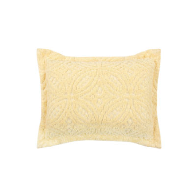 Better Trends Chenille Wedding Ring Standard Sham