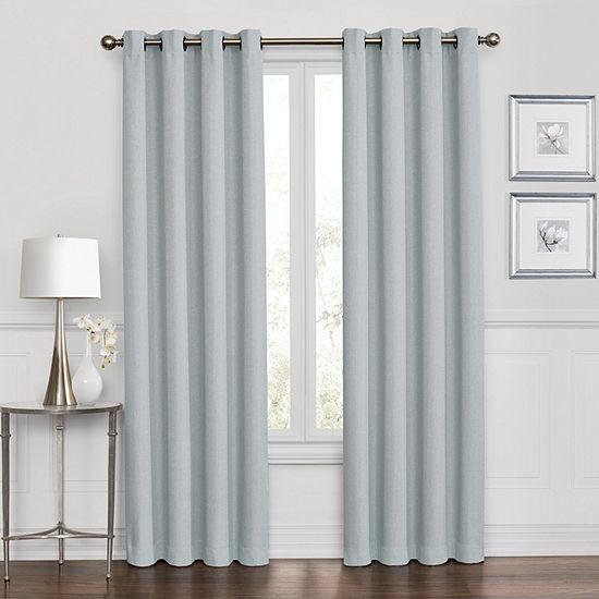 Sedona 100% Blackout Grommet-Top Curtain Panel