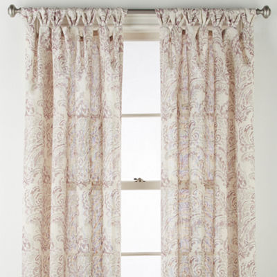 JCPenney Home Santorini Tab-Top Curtain Panel