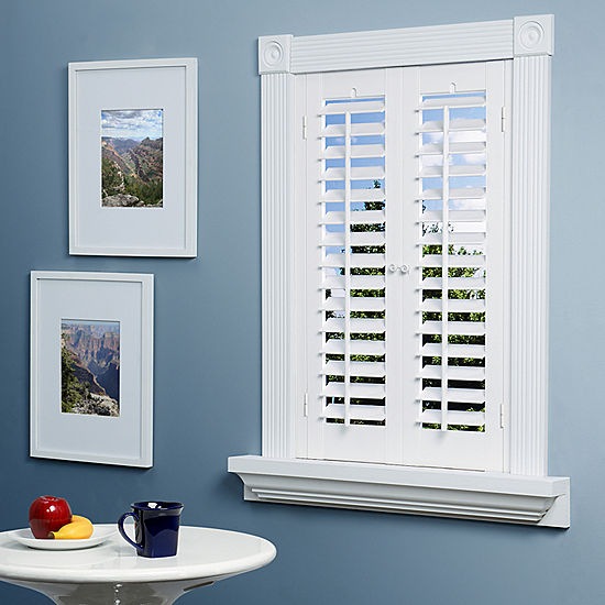 Jcpenney Home Faux Wood Plantation Shutters 2 Panels