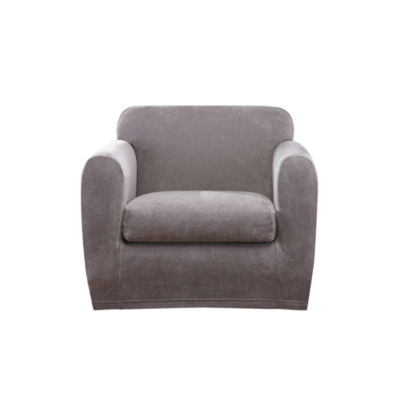 Sure Fit Ultimate Stretch Chenille 1 Cushion Chair Slipcover