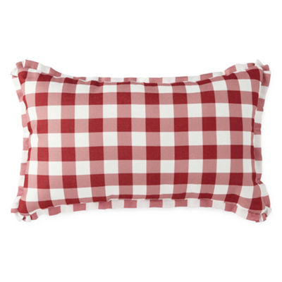 JCPenney Home Americana Pups Rectangular Throw Pillow