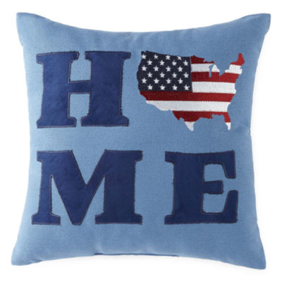 JCPenney Home Americana Home Square Throw Pillow
