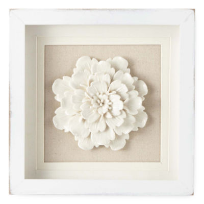 JCPenney Home Arboretum Floral Wall Sculpture