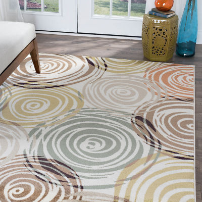 Tayse Deco Joelle Rectangular Indoor Rugs