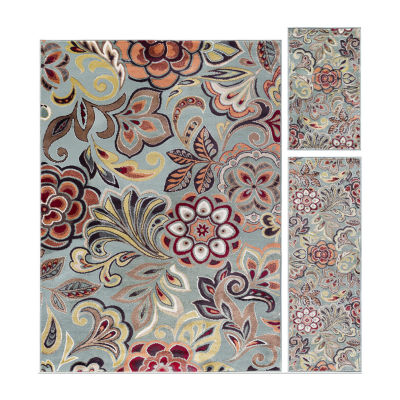 Tayse Deco Dilek 3-pc. Rug Set