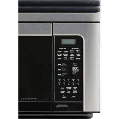 Sharp® 1.1 Cu. Ft. 850W Over-the-Range Convection Microwave Oven in Stainless Steel
