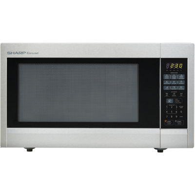 Sharp® Carousel 2.2 Cu. Ft. 1200W Countertop Microwave Oven - Stainless Steel