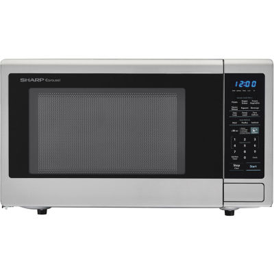 Sharp® Carousel 1.8 Cu. Ft. 1100W Countertop Microwave Oven