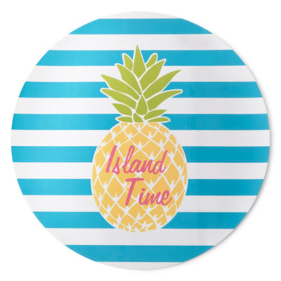Outdoor Oasis Pineapple 4-pc. Placemats
