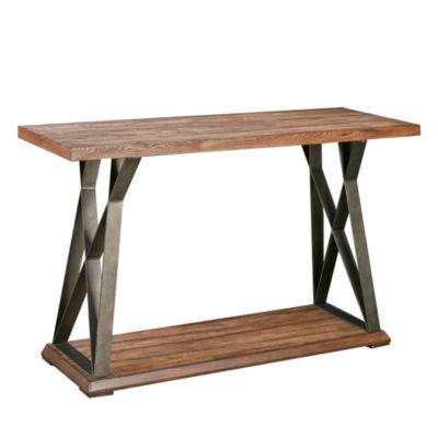 Madison Park Hawk X Base Console Table