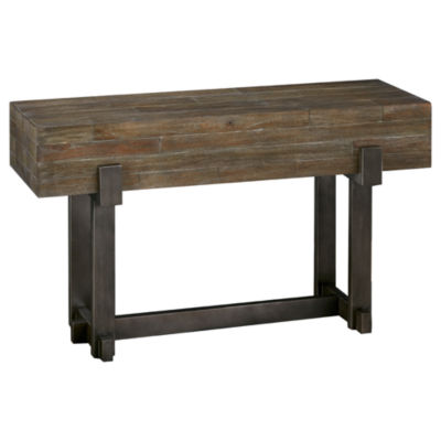 INK + IVY Timber Console Table