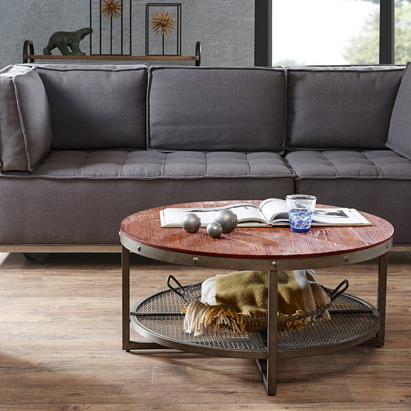 Ink + Ivy Sheridan Round Coffee Table