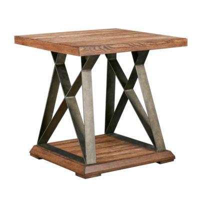 Madison Park Hawk X Base End Table
