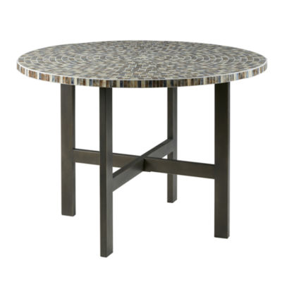 INK + IVY Mosaic Round Dining Table