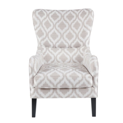 Madison Park Leda Swoop Wing Chair