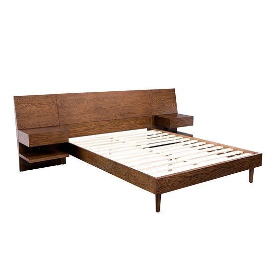 INK + IVY Clark King Bed With 2 Nightstands