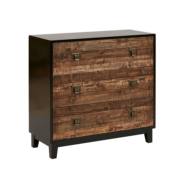 Madison Park Gale Chattered Wood Accent Chest