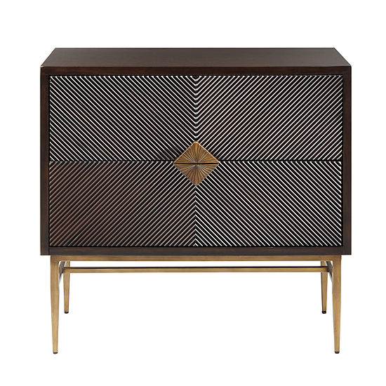 Madison Park Betsy 2-Drawer Accent Chest
