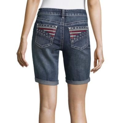 "a.n.a Americana Pocket Bermuda Shorts (9"")"