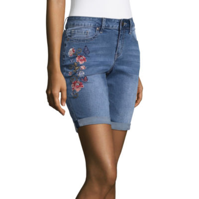 a.n.a Embroidered Bermuda Shorts 9